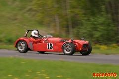 SSK arrangerade Sportvagnstävling samt Historisk Racing Deltävling 1 för båda klasserna i år