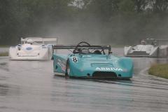 Svenskt Sportvagnsmeeting på Ring Knutstorp med RHK & Sportvagnsserien.  Det blev delvis förstört av mängder med regn.