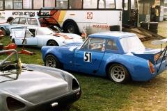 Historiska racingbilder av Sven-Erik Tysk