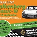 Dubbelfinal under Falkenberg Classic
